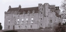 Airth Castle from the east (2004)